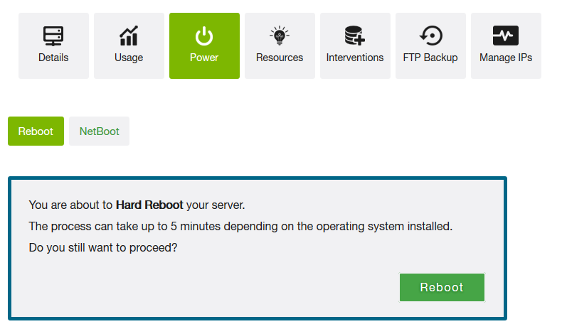 Manage Dedicated Server on Your Own